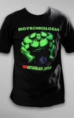 Koszulka na juwenalia: Biotechnologia – nadnaturalnie zdolni
