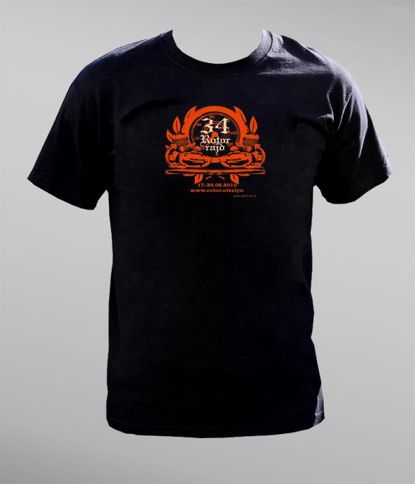T-shirt XXXIV Rotor Rajdu