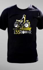 Koszulka na XXXV Rajd Rotor — rajd motocykli zabytkowych