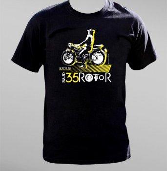 Koszulka na XXXV Rajd Rotor – rajd motocykli zabytkowych
