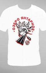 Koszulka na wyprawę nurkową do Jeziora Bursztynowego