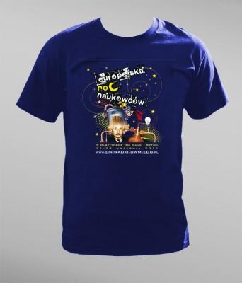 Koszulka na Europejską Noc Naukowców