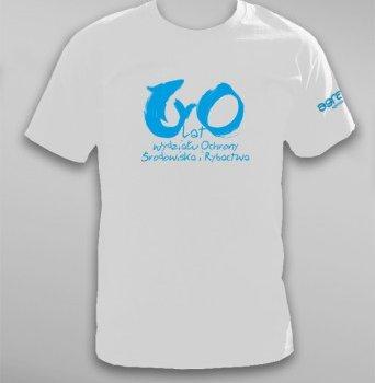 Koszulka na 60-lecie Wydziału Ochrony Środowiska i Rybactwa UWM