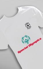 Koszulka na Olimpiadę Specjalną w USA