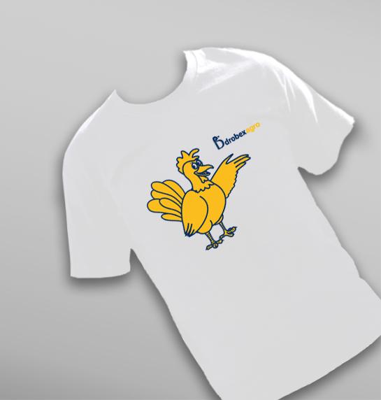 Koszulka dziecięca dla firmy DROBEX-AGRO