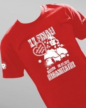 Koszulka na XX finał WOŚP w Olsztynie