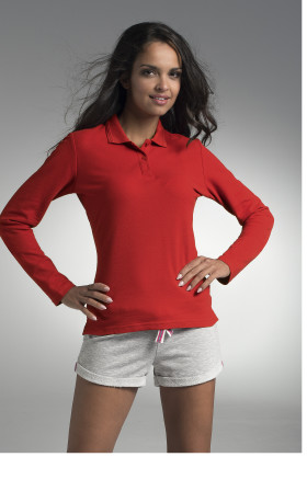 Polo Promostars Ladies' Long Cotton