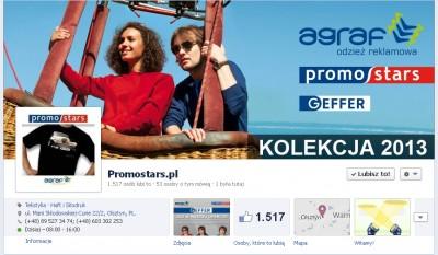 Ponad 1500 fanów promostars.pl!