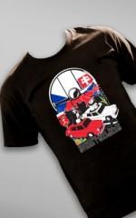 Koszulka na rajd Syren i Warszaw Nekla-Praga-Bratysława