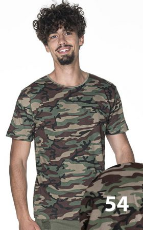 T-shirt Crimson Cut Camo