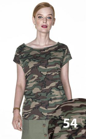 Футболки Crimson Cut Camo Lady
