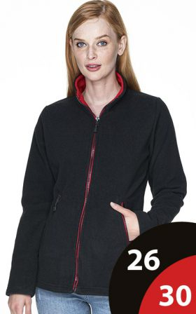 Fleece Crimson Cut Ladies' Duet