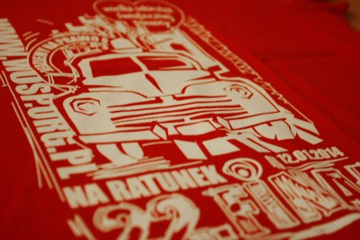 Koszulki na XXII Finał Wielkiej Orkiestry Świątecznej Pomocy