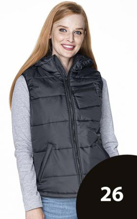 Vest Crimson Cut Ladies' Step