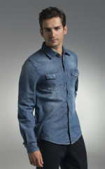 Koszule Promostars Blue Jeans