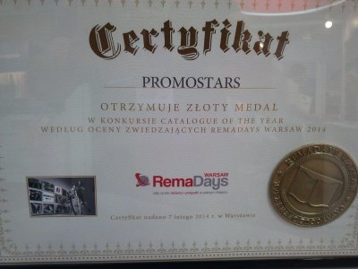 Złoty medal dla Promostars!