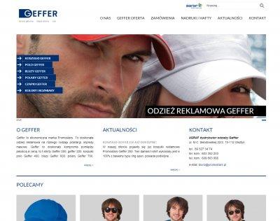 Strona submarki Geffer