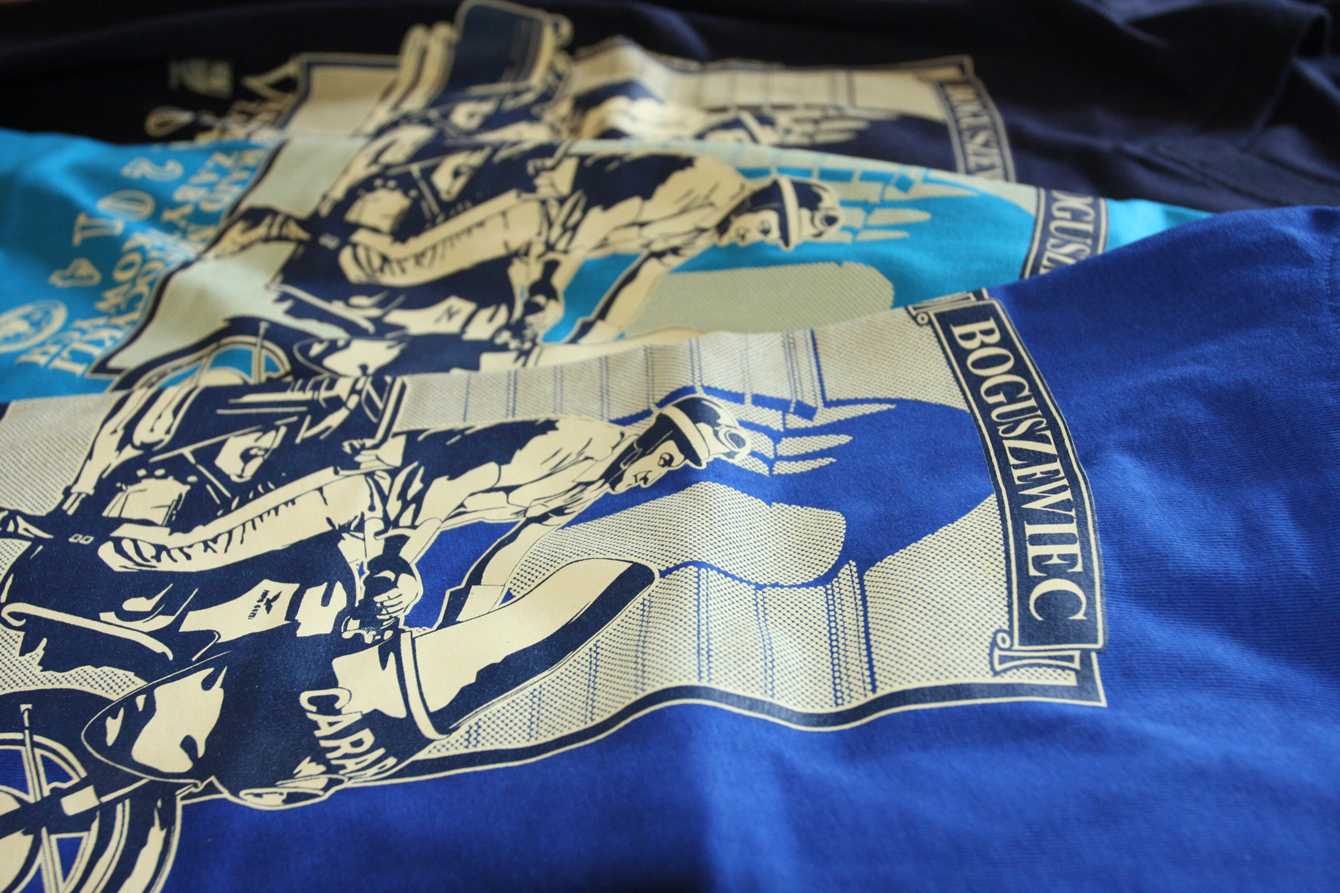 Koszulki na V Płocki Rajd Motocykli Zabytkowych