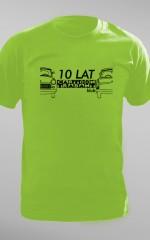 Koszulki na 10-lecie Cartoon Trabant