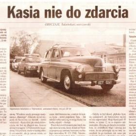 """""""Kasia Nie Do Zdarcia""""- artykuł o naszej Warszawie"""