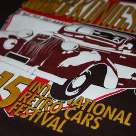 Koszulki na II International Retro Cars Festival