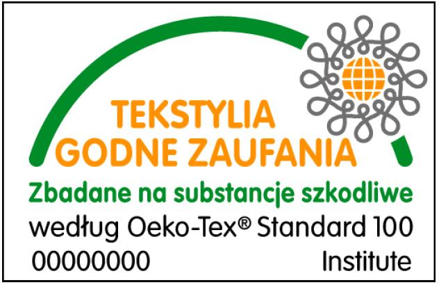 Certyfikat Oeko-Tex Standard 100