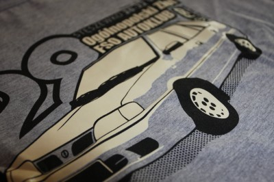 Koszulki na 28. Ogólnopolski Zlot Autoklubu FSO