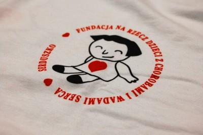 """Koszulki dla Fundacji """"Serduszko"""""""