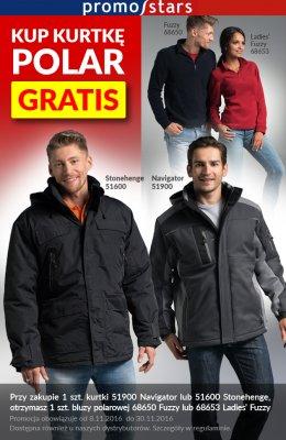 Promocja: kup kurtkę – polar gratis!