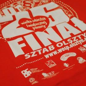 Koszulki na 25. Finał Wielkiej Orkiestry Świątecznej Pomocy