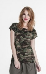 T-shirt Promostars Camo Lady