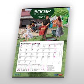 Agraf – kalendarz na rok 2018
