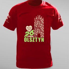 Koszulki na 26. Finał WOŚP w Olsztynie