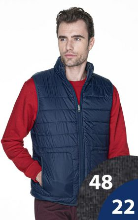 Vest Crimson Cut Twist