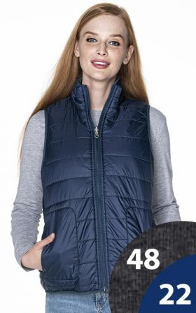Vest Crimson Cut Ladies' Twist