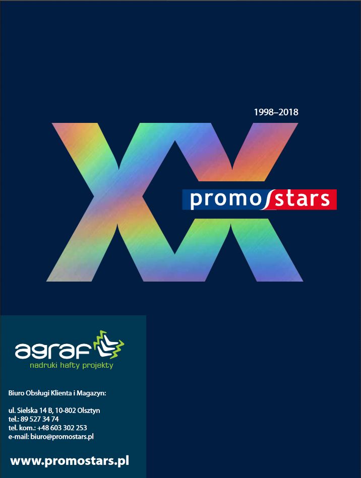 Nowy katalog Promostars 2018