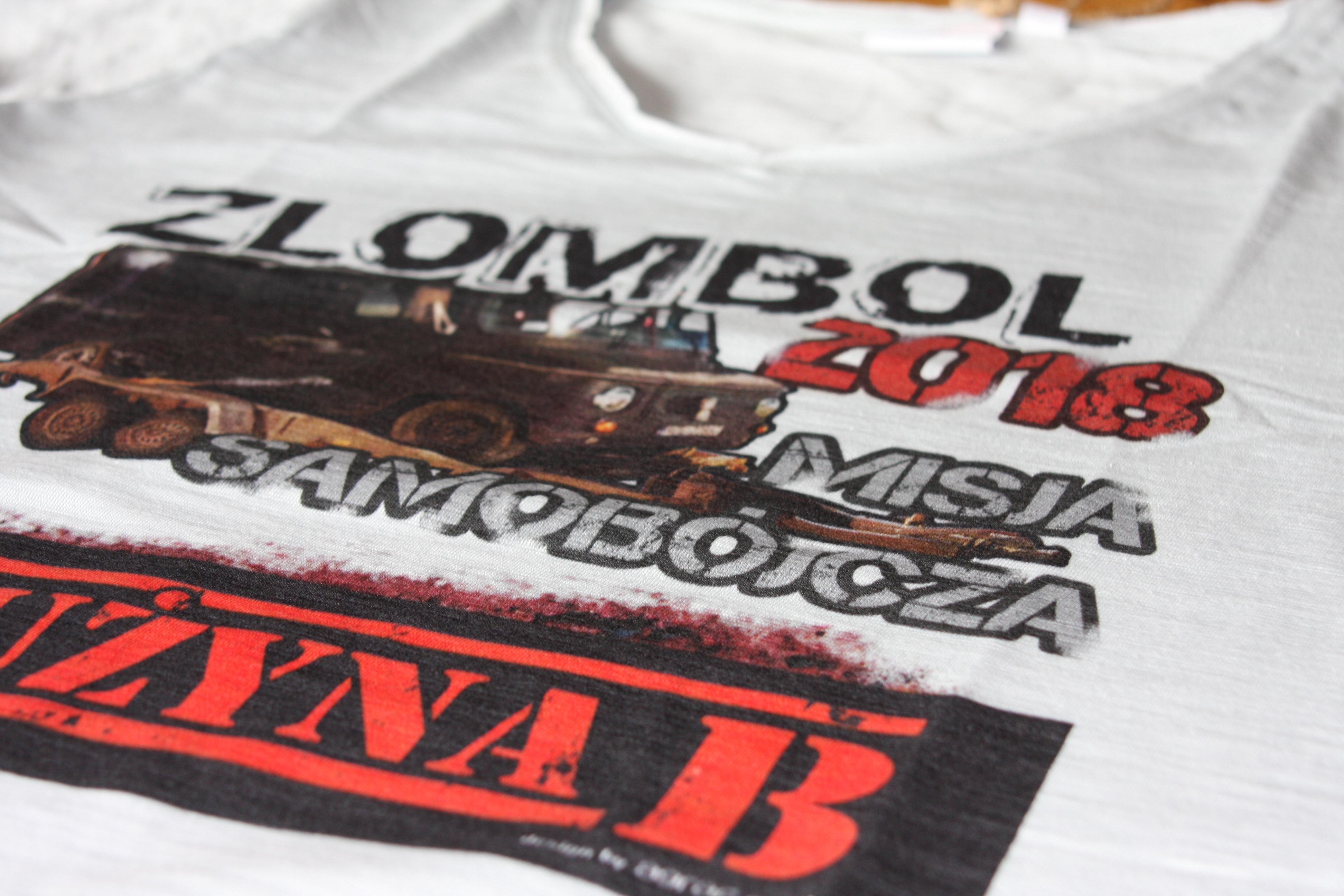 Koszulki na rajd charytatywny Złombol
