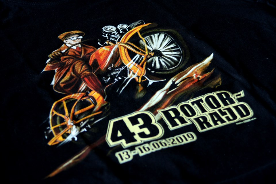 Koszulki 43. Rotor Rajdu