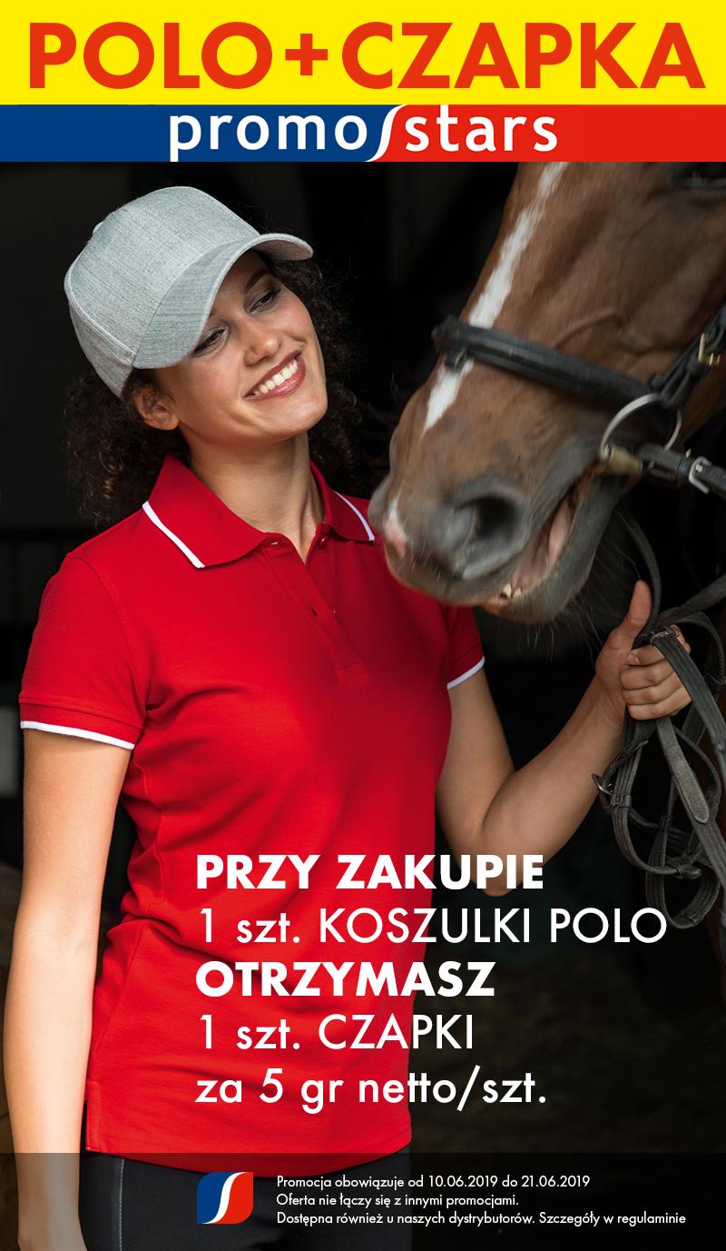 Regulamin Promocji: Polo + Czapka za 5 gr