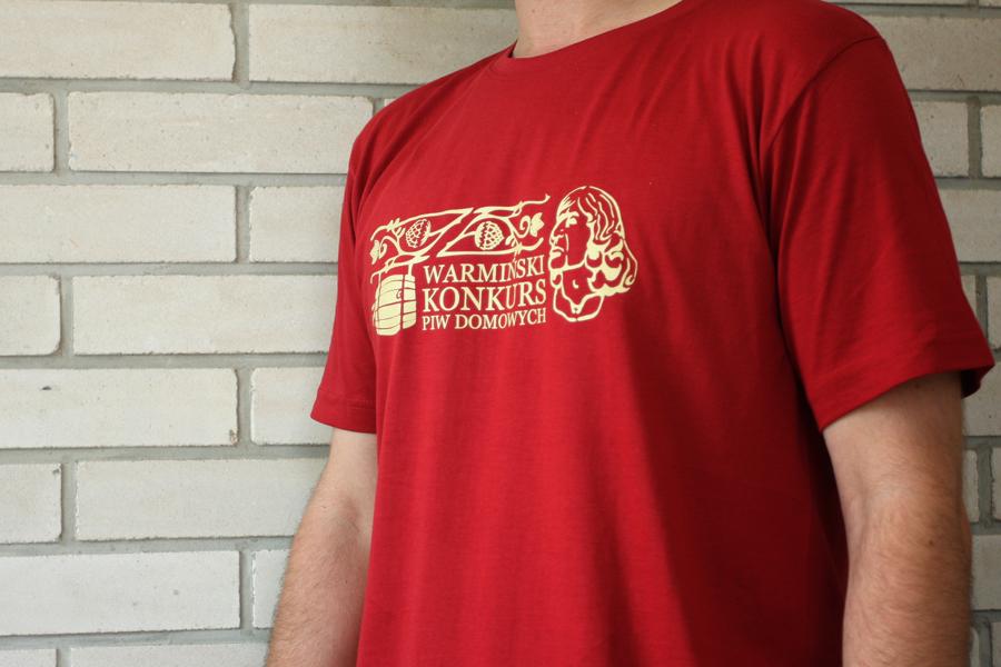 T-shirty na Warmiński Konkurs Piw Domowych 2019 w Dywitach
