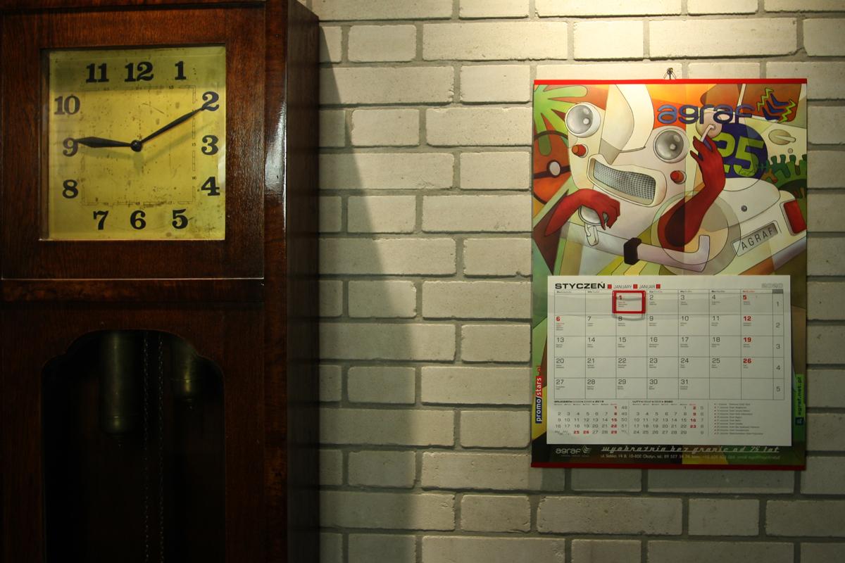 Kalendarze Agraf na rok 2020