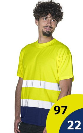T-shirt Mark The Helper Hi-Vis