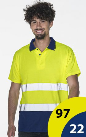 Поло Mark The Helper Hi-vis