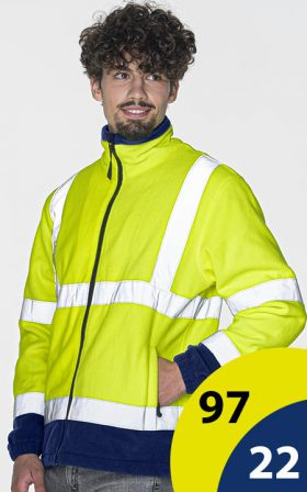 Fleece Mark The Helper Hi-Vis