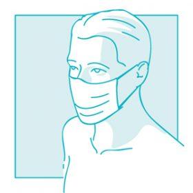 Maski, przyłbice i kombinezony ochronne